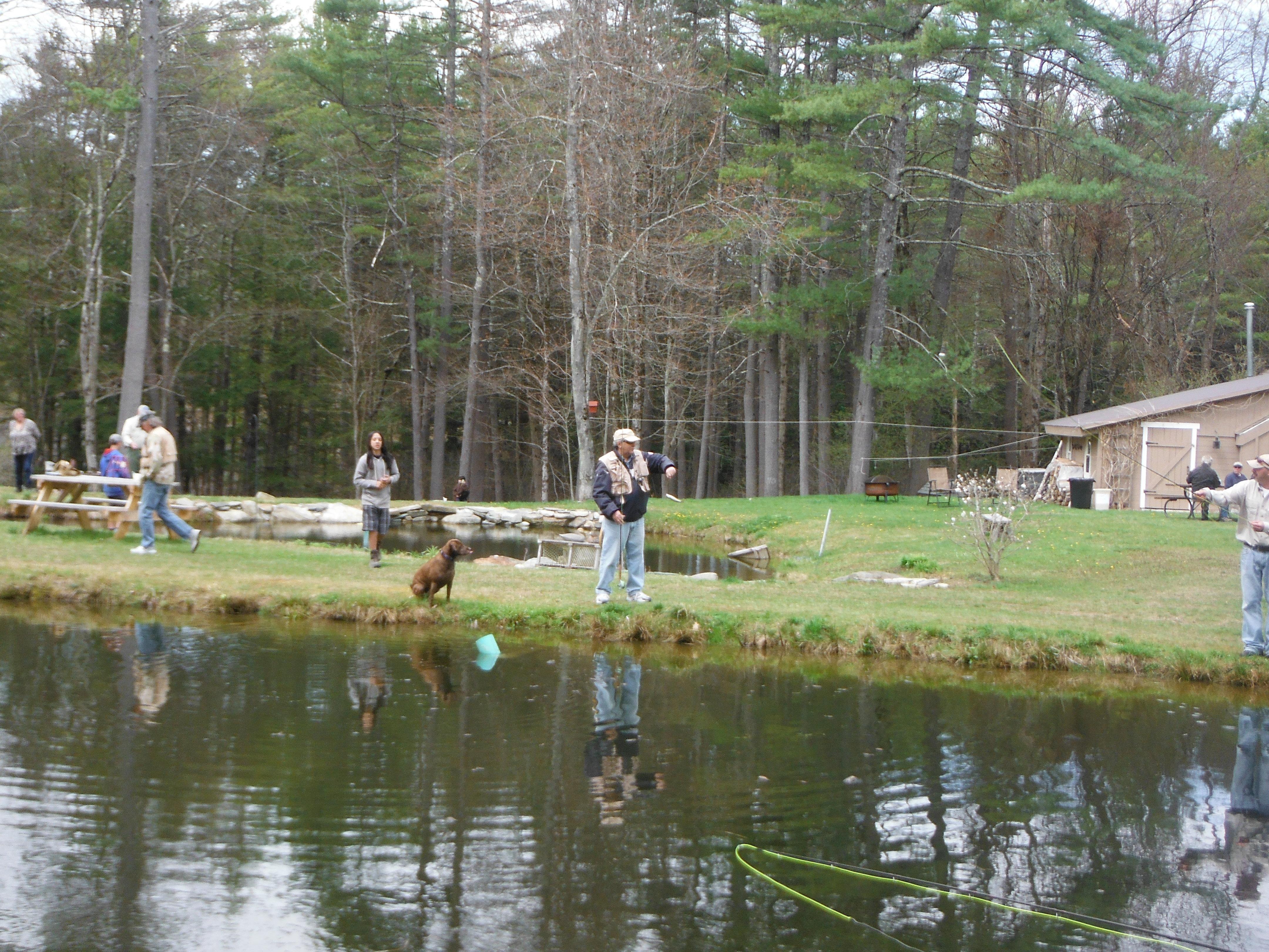 mrfa u2013 project healing waters event at stone hill trout farm